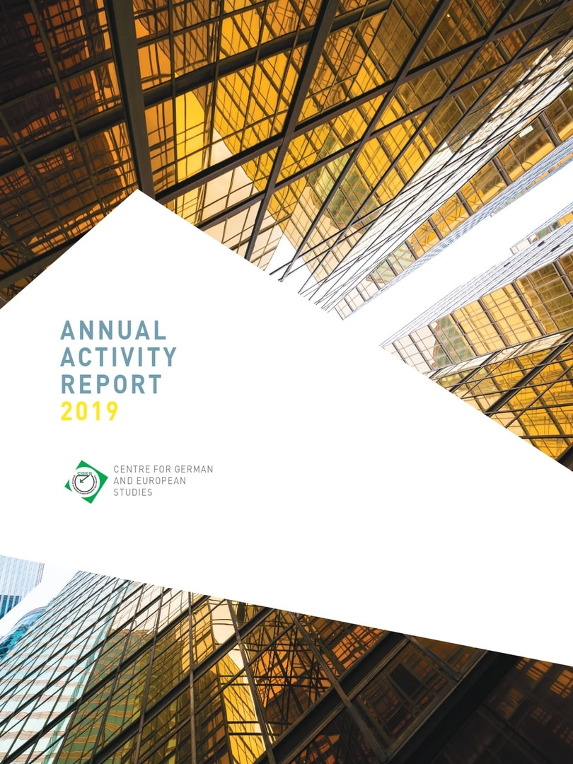 CIGE Annual report 2019 coverpage